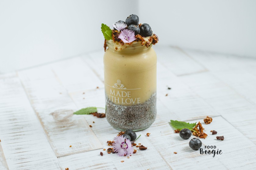 Chia Pudding Ice cream dream