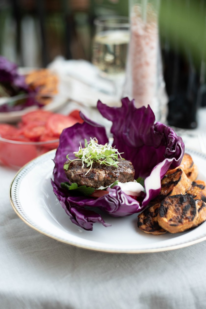 cabbage burger,