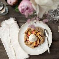 Nectarine Galette: a BBQ Dessert {sponsored}